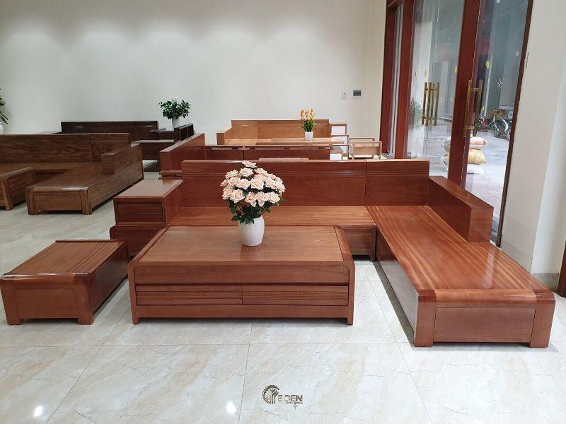 Mẫu bàn ghế xoan đào được nhiều người ưa chuộng