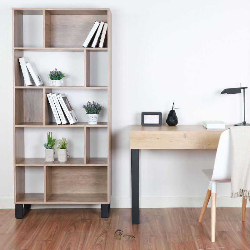 Ý tưởng 7: Mẫu kệ sách dành riêng cho không gian làm việc