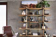 TUYỂN CHỌN 10 ý tưởng trang trí nội thất với Kệ sách đứng
