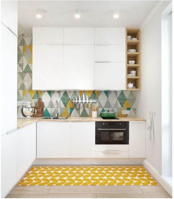 Tủ áp trần cho khu vực phòng bếp