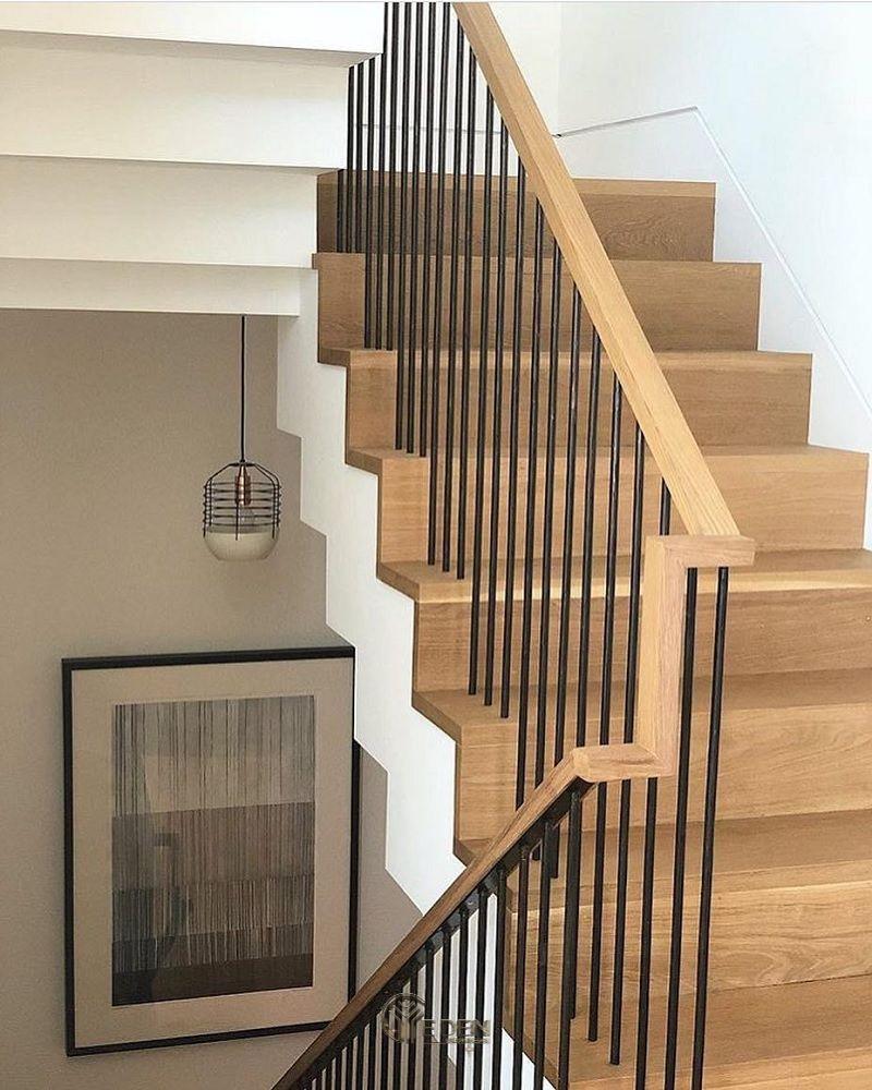 Mẫu cầu cầu thang gỗ bền, đẹp (1)