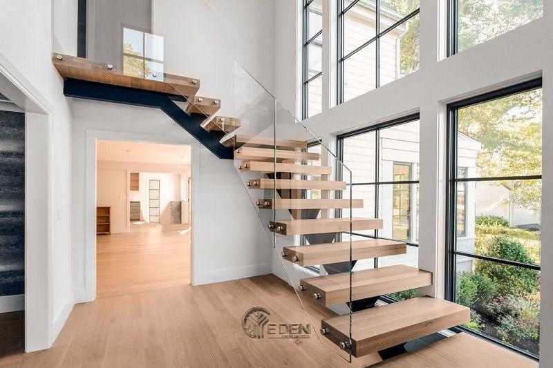 Mẫu cầu thang bằng kính sang trọng, mới lạ cho nhiều gia đình hiện đại (2)