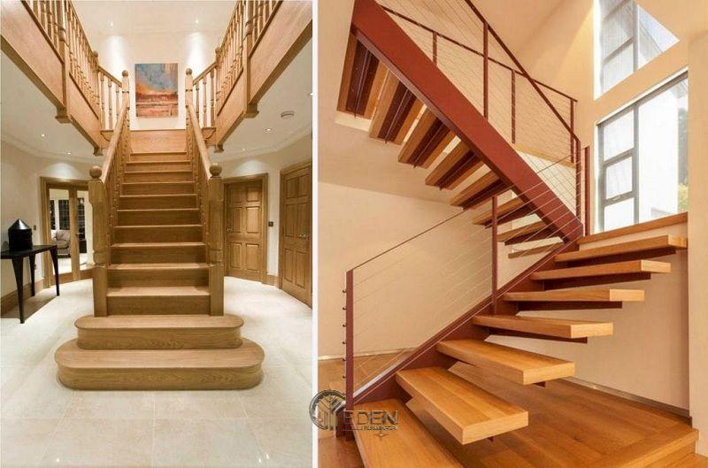 Mẫu cầu cầu thang gỗ bền, đẹp (2)