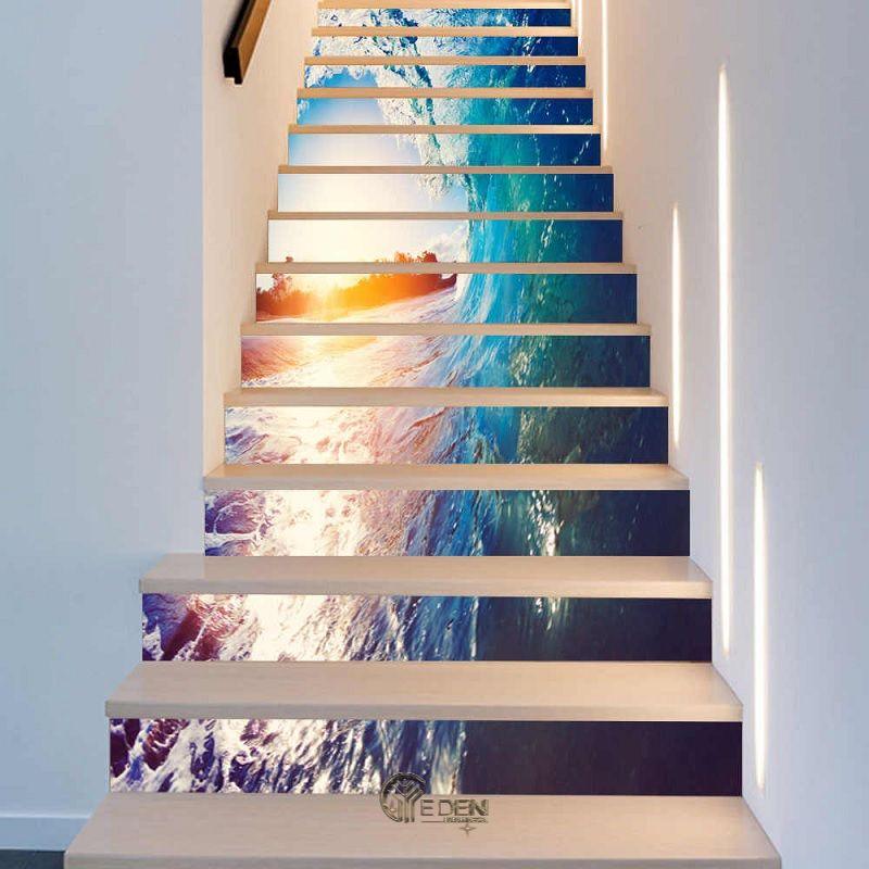 Mẫu cầu thang 3D biến không gian trở nên sống động lạ kỳ (2)