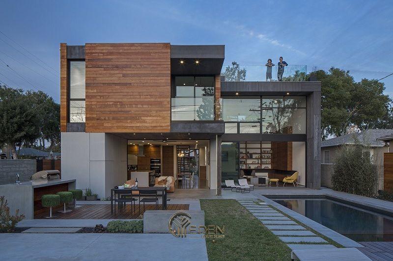 Mẫu nhà biệt thự thép tiền chế hiện đại, tiện nghi mới nhất năm 2021
