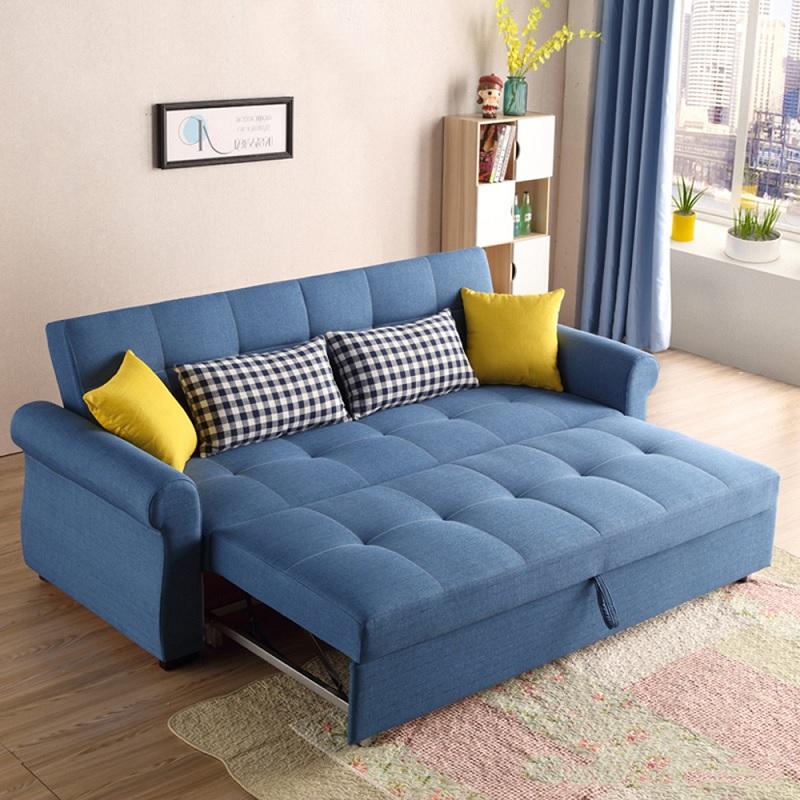 Ghế sofa trải dài giúp bạn nghỉ ngơi, thư giãn khi xem tivi