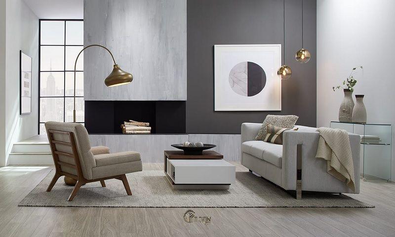 một phong cách thoải mái, nhẹ nhàng hơn, được cập nhật mà thiếu những hình bóng hữu cơ cách điệu của phong cách hiện đại giữa trung niên