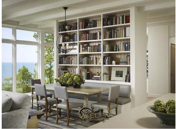 Hướng dẫn cách thiết kế, trang trí phòng đọc sách gia đình nhỏ đẹp ấn tượng