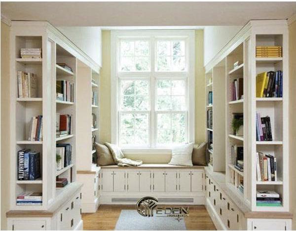 Phòng đọc sách thiết kế độc đáo mang tới không gian thoáng đãng