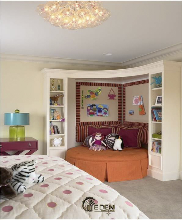 Phòng đọc sách gia đình ấn tượng