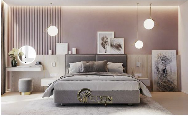 Trang trí phòng ngủ với các tone màu nhẹ nhàng