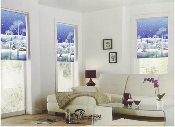 Rèm cuốn tranh cho nhà chung cư tuyệt đẹp