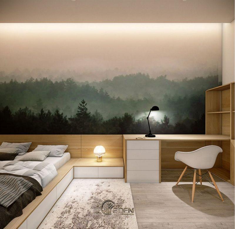 Thiết kế nội thất nhà phố phòng ngủ – Mẫu 4