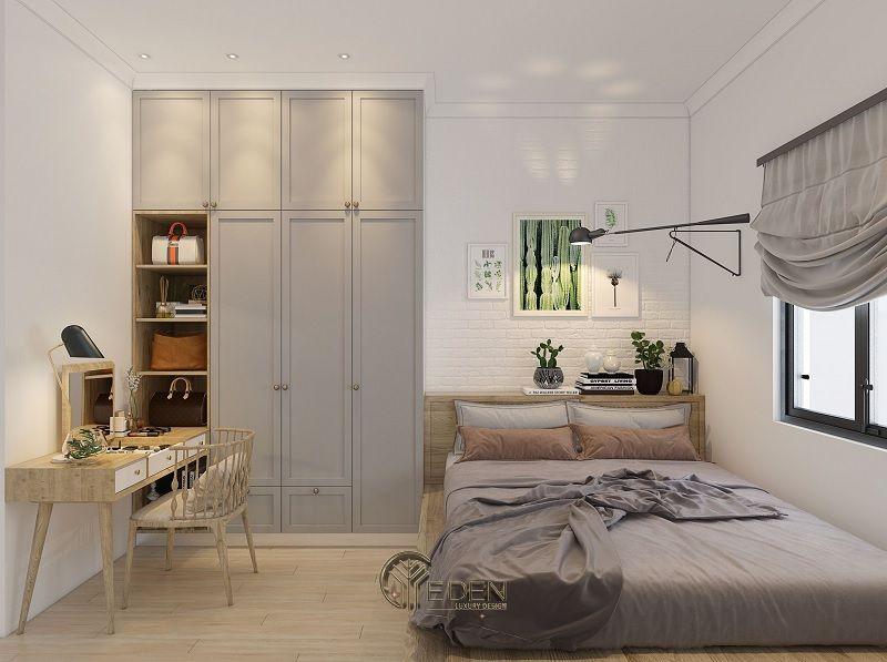 Thiết kế nội thất nhà phố phòng ngủ – Mẫu 2