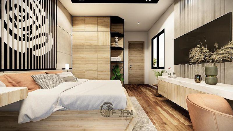 Thiết kế nội thất nhà phố phòng ngủ – Mẫu 5
