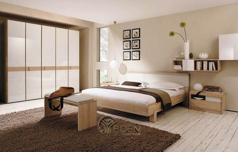 Thiết kế nội thất nhà phố phòng ngủ – Mẫu 1