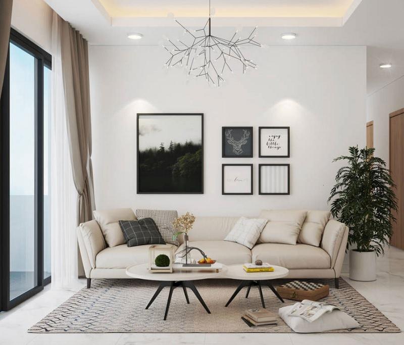 Những mẫu trang trí phòng khách chung cư nhỏ 12