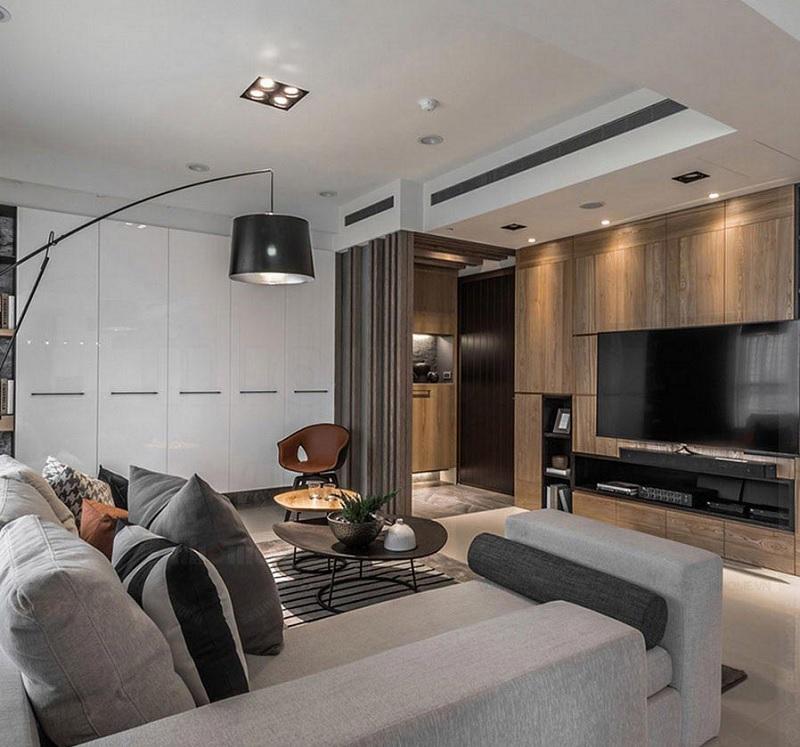 Những mẫu trang trí phòng khách chung cư cao cấp 10