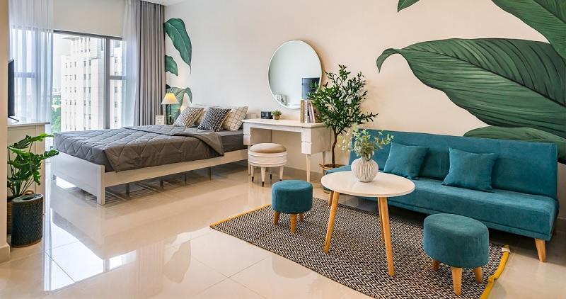 Những mẫu trang trí phòng khách chung cư nhỏ 11