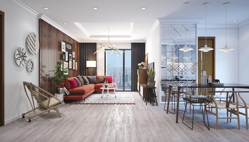 Những mẫu trang trí phòng khách chung cư cao cấp 9