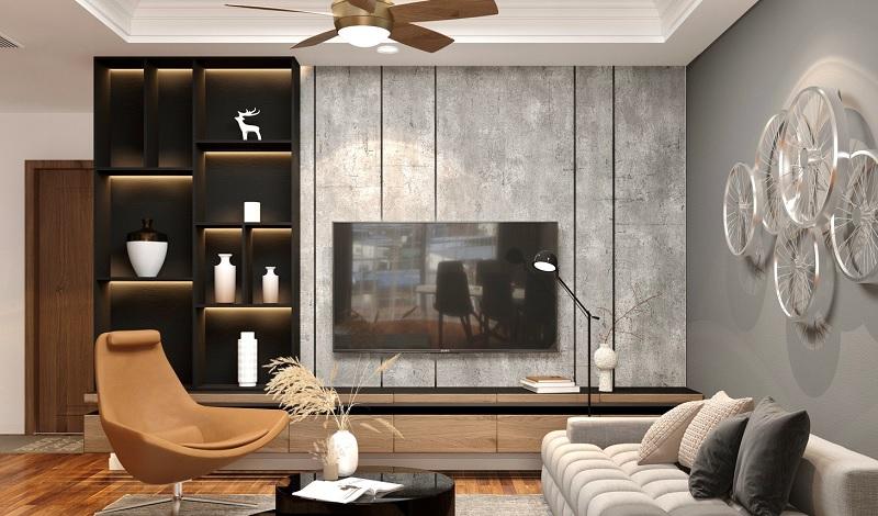 Những mẫu trang trí phòng khách chung cư cao cấp 8