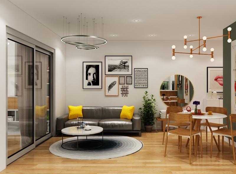 Những mẫu trang trí phòng khách chung cư nhỏ 4