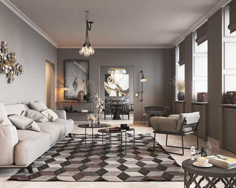 Những mẫu trang trí phòng khách chung cư nhỏ 3