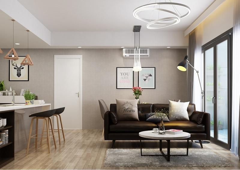 Những mẫu trang trí phòng khách chung cư nhỏ 15