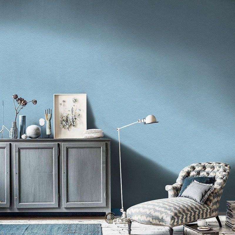Tạo không gian mát mẻ xua tan những bận rộn ngoài kia với gam màu xanh dương pastel