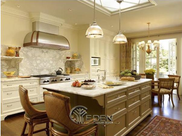 Lựa chọn phong cách tủ bếp hài hòa với căn nhà