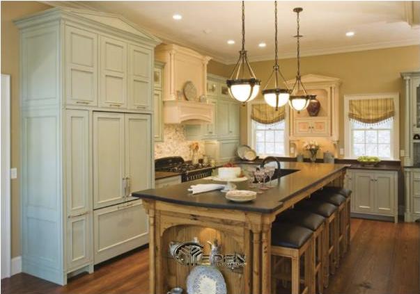 Tủ bếp có nhiều màu sắc, kiểu dáng và phong cách khác nhau