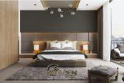 6 cách trang trí vách ốp đầu giường bền, đẹp, chất lượng