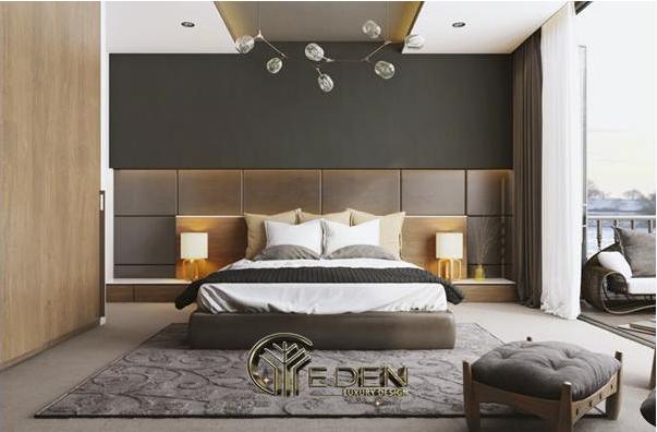 Vách ốp đầu giường khiến phòng ngủ thoải mái, sang trọng hơn