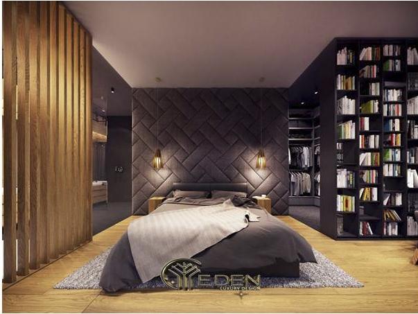 Vách đầu giường tinh tế, sang trọng và ấm áp