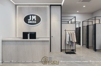 Thiết kế shop quần áo thương hiệu JM Showroom Ocean Park