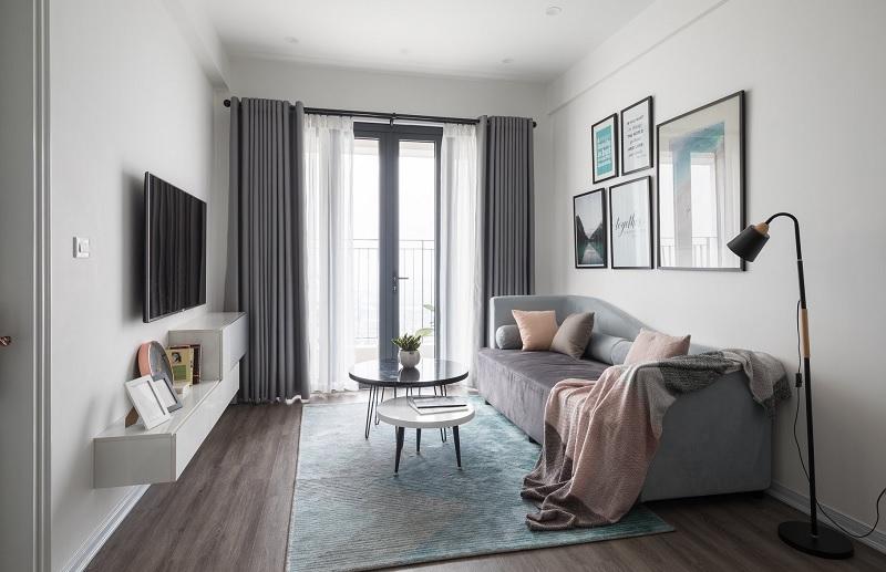 """Biến không gian nhỏ thành """"siêu to khổng lồ"""" với nội thất tối giản"""