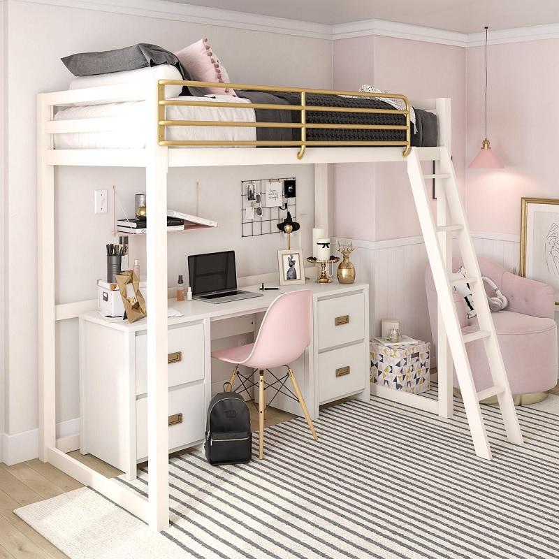 """Mẫu giường tầng đẹp cho các """"Nàng thơ"""""""