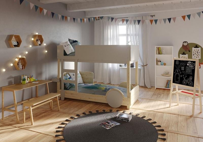 Mẫu giường 2 tầng cho bé nâng cao sự sáng tạo
