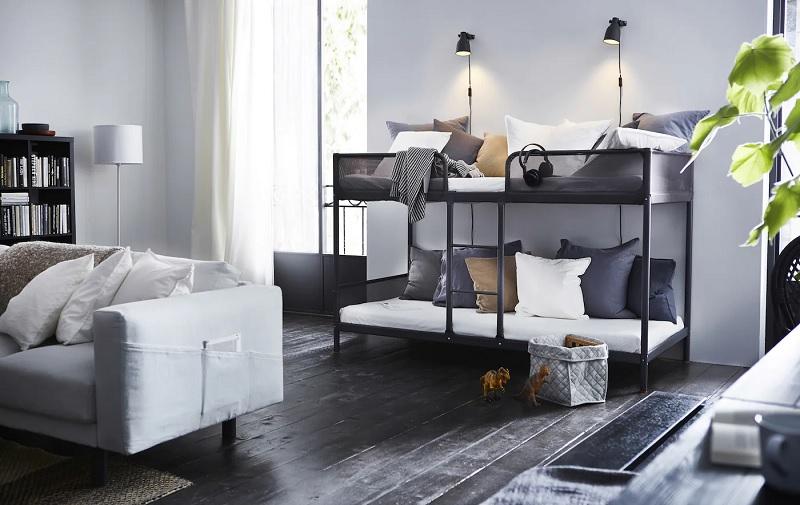Mẫu giường tầng sắt cho người lớn