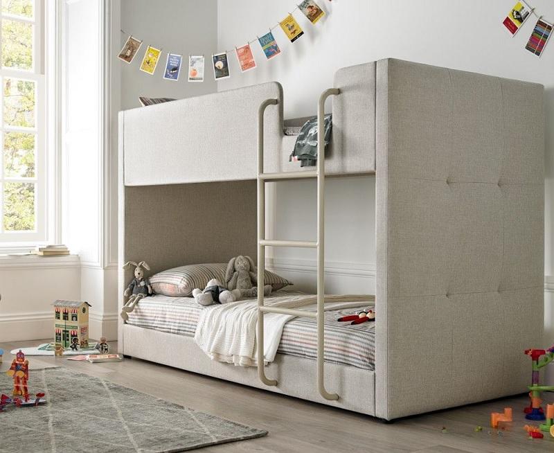 Thiết kế phòng ngủ tối giản giúp bé rèn luyện tính gọn gàng, ngăn nắp