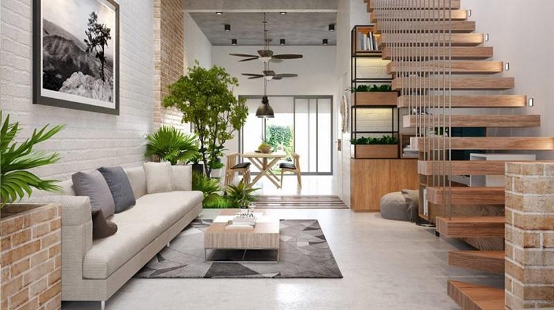 Phong cách nội thất hiện đại hiện lên mang màu sắc của xu hướng mới, trẻ trung và sang trọng.