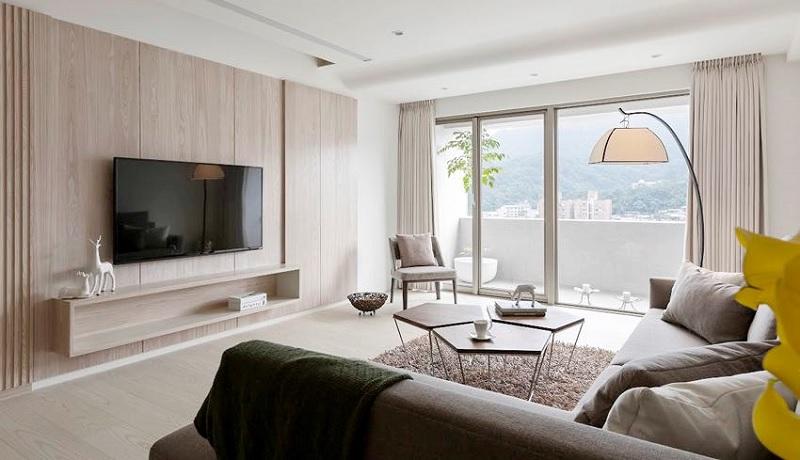Cách mà thường được nhiều chuyên gia gợi ý khi muốn tăng diện tích không gian nhà phố đẹp phải kể đến đó là sử dụng màu sơn trắng hoặc Pastel