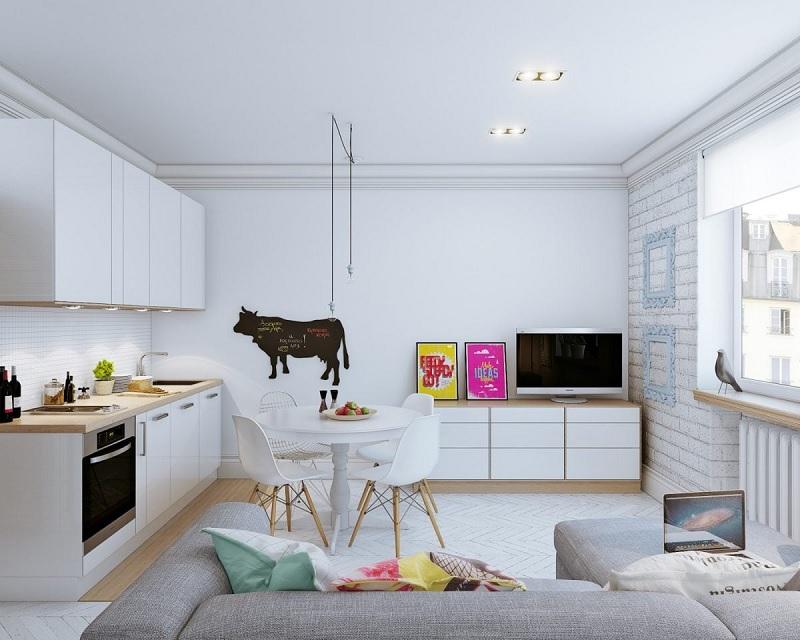 Decor nội thất nhà đẹp cho không gian chung cư - Phòng khách