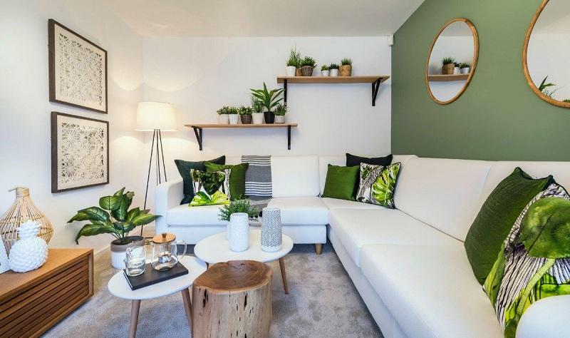 Decor nội thất nhà đẹp cho không gian nhà phố - Phòng khách