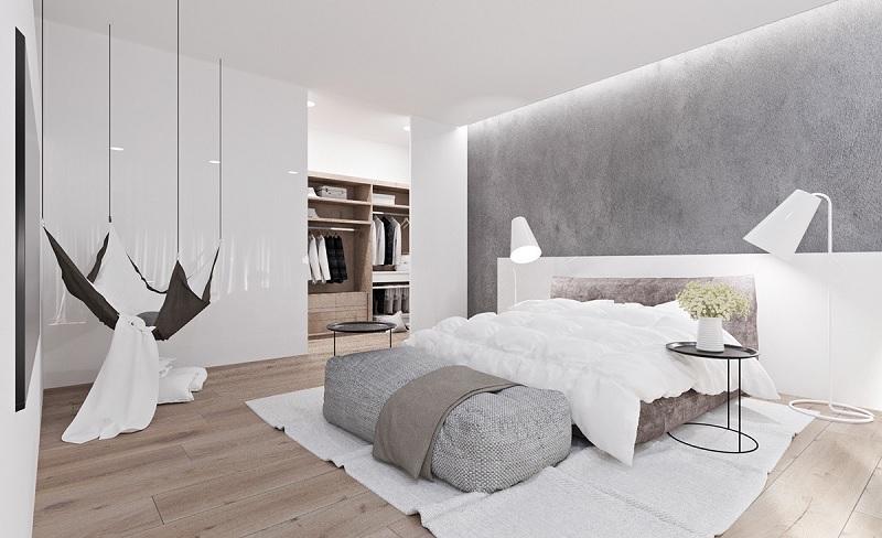 Decor nội thất nhà đẹp cho không gian nhà phố - Phòng ngủ