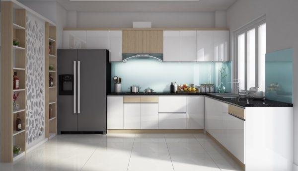 Tủ bếp hiện đại, tiện nghi cho không gian bếp