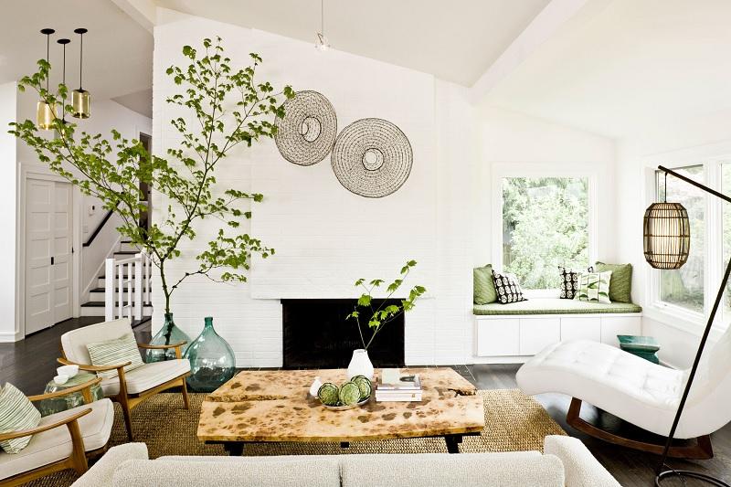 Trước khi bắt tay vào thiết kế trang trí nội thất trong nhà với vườn cây nhỏ thì bạn cần phải lưu ý đến loại cây mà bạn sẽ lựa chọn để đặt vào trong không gian