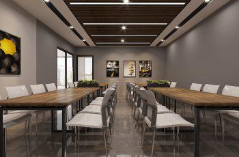 Thiết kế nội thất văn phòng Hoàng Long