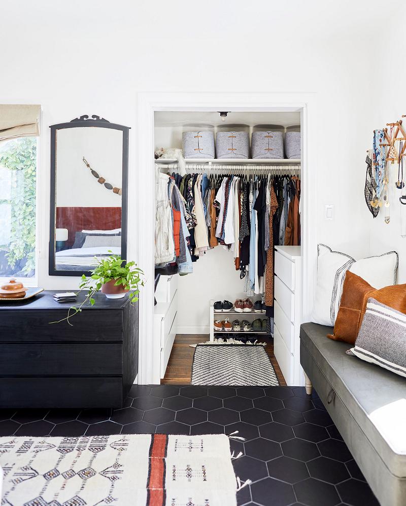 Phòng thay đồ mini, tận dụng tối đa diện tích