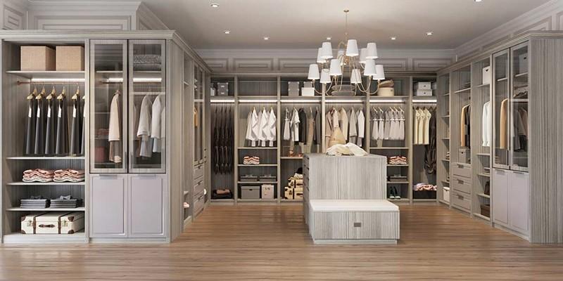 Phòng thay đồ phong cách cổ điển